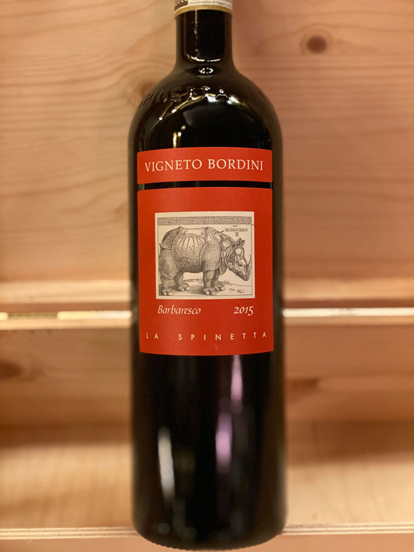 Barbaresco Vigneto Bordini La Spinetta